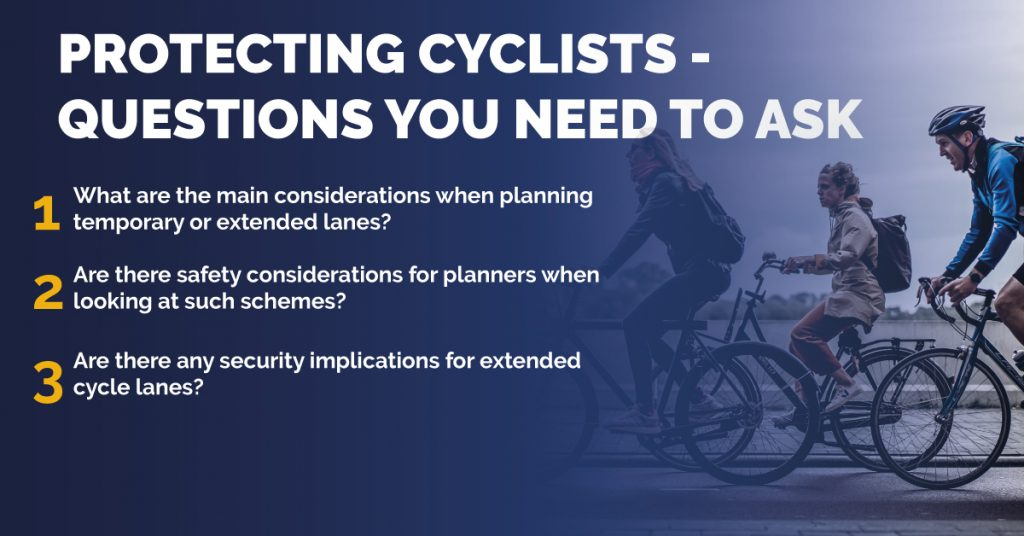 Protecting Cyclists Graphic
