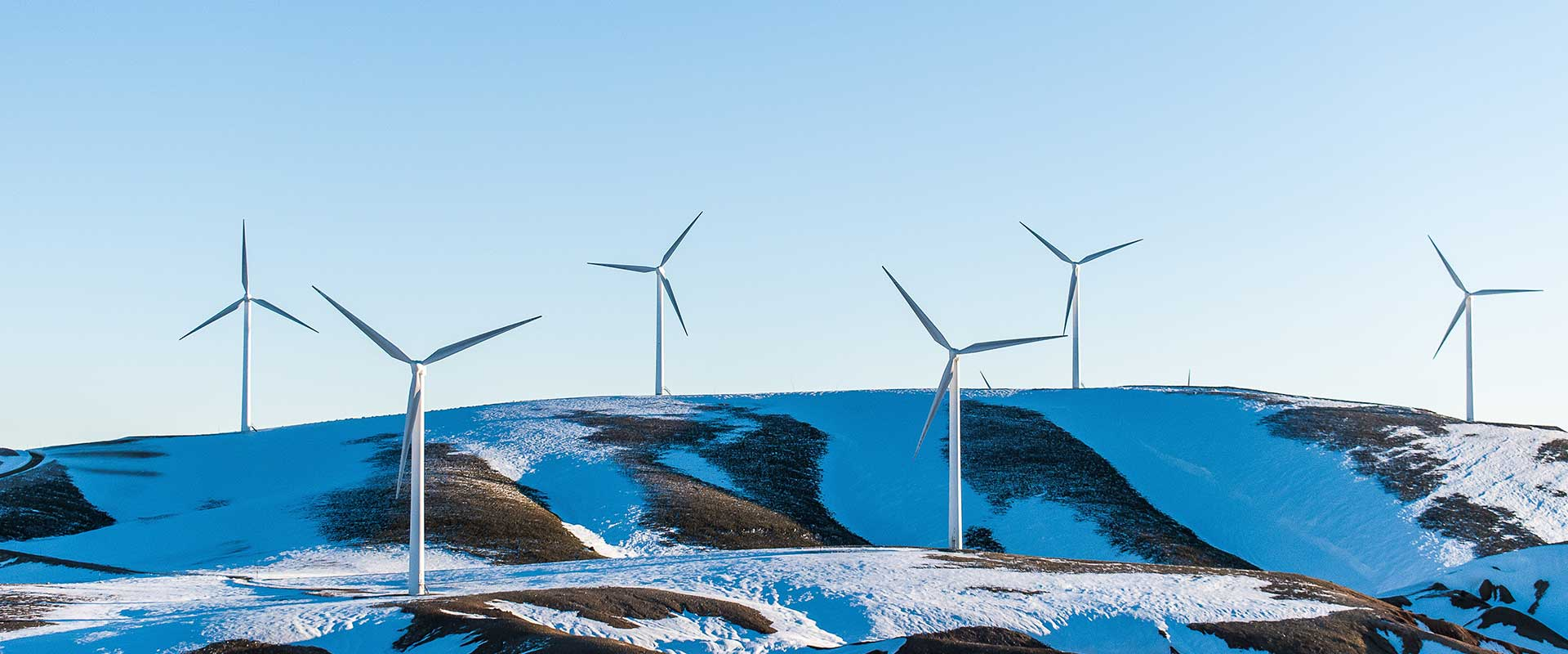 Banner Image for Physical Security for Renewable Energy Article Showing A Wind Farm